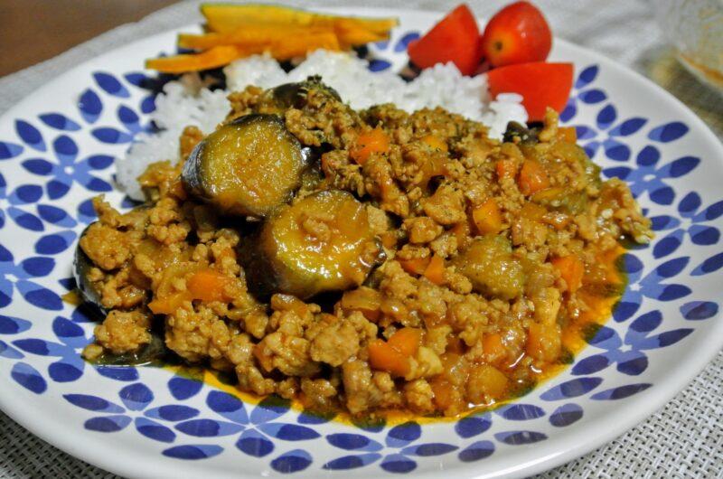 【土曜はナニする】ナスの絶品キーマカレーのレシピ|印度カリー子【7月31日】