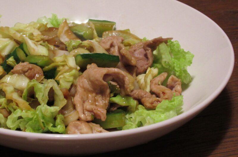 【おは朝】パリパリきゅうりと豚肉のスタミナ味噌炒めのレシピ|井上かなえ|おはよう朝日です【7月28日】