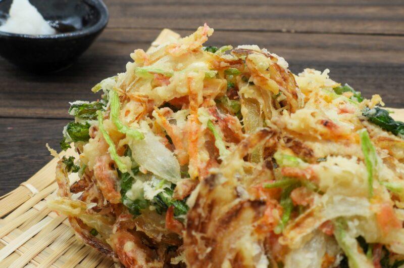 【青空レストラン】花らっきょうと納豆のかき揚げのレシピ|三年子花らっきょう【7月10日】