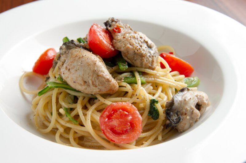【男子ごはん】夏牡蠣の冷製パスタのレシピ|冷たいイタリアン【7月25日】