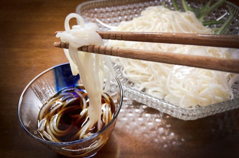 【ヒルナンデス】もずく酢×長芋×油揚げのそうめんのつけだれのレシピ【7月14日】
