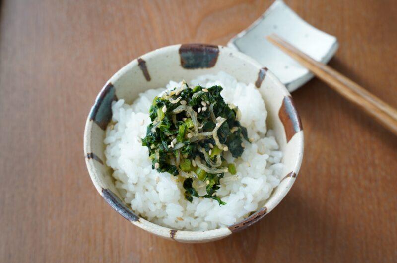 【きょうの料理】じゃこナッツの漬物丼のレシピ 小田真規子 夏のスピード丼【7月20日】