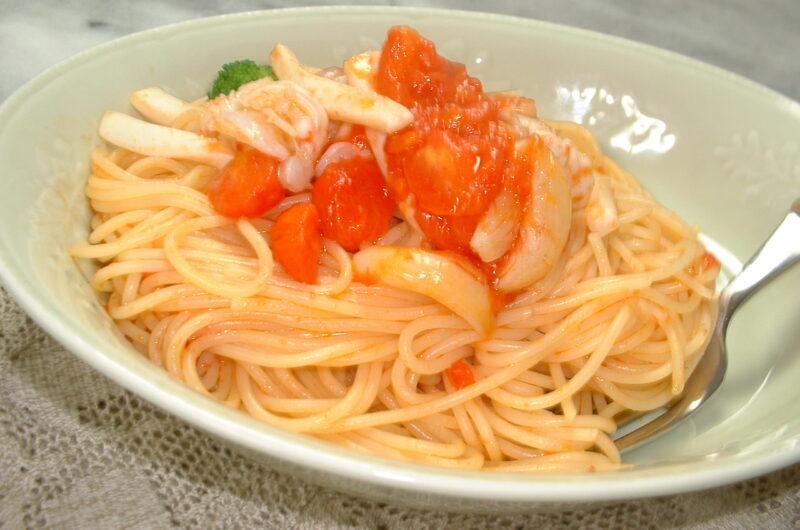 【キメツケ】紅しょうがとなすの冷製パスタのレシピ【7月13日】