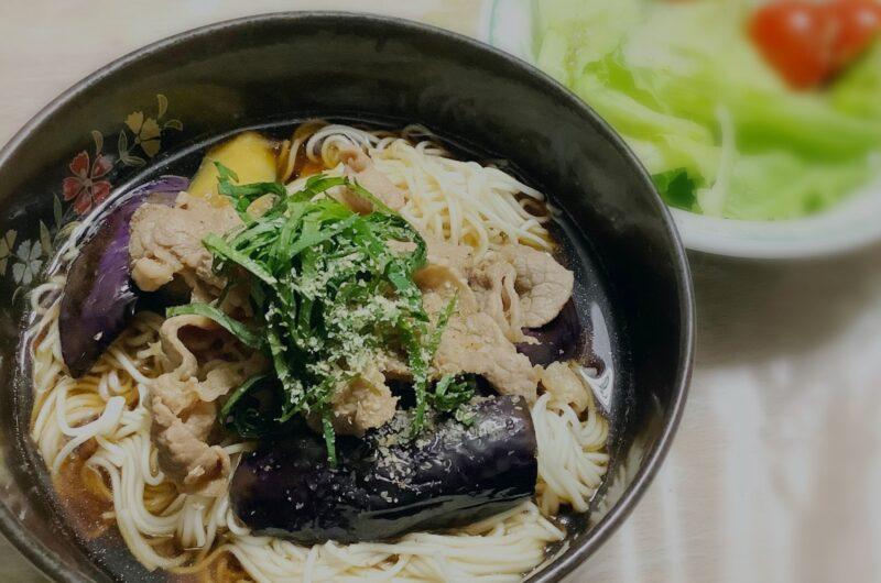 【ノンストップ】豚バラ肉のせボリュームそうめんのレシピ クラシル エッセ【8月25日】