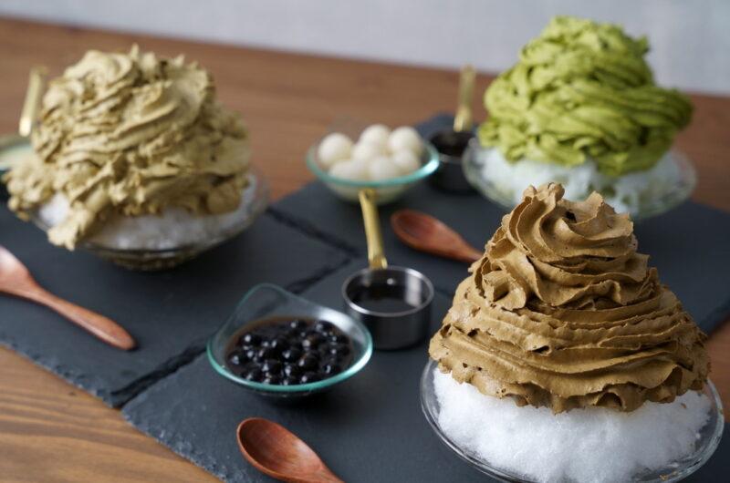 【土曜はナニする】抹茶ミルクのクリームかき氷のレシピ 原田麻子【8月7日】