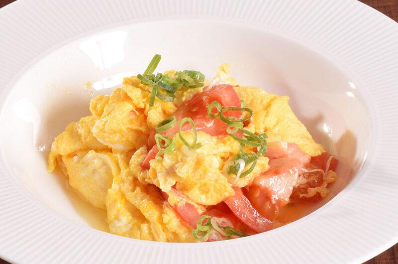 【きょうの料理】トマトと卵のオイスターあんかけのレシピ 栗原心平【8月10日】