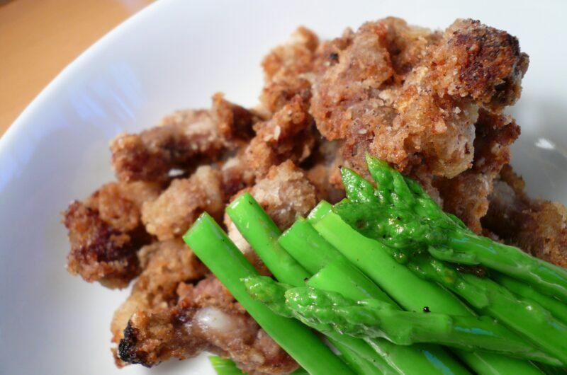 【ノンストップ】香味揚げ豚のみょうがだれのレシピ|クラシル|エッセ【8月11日】