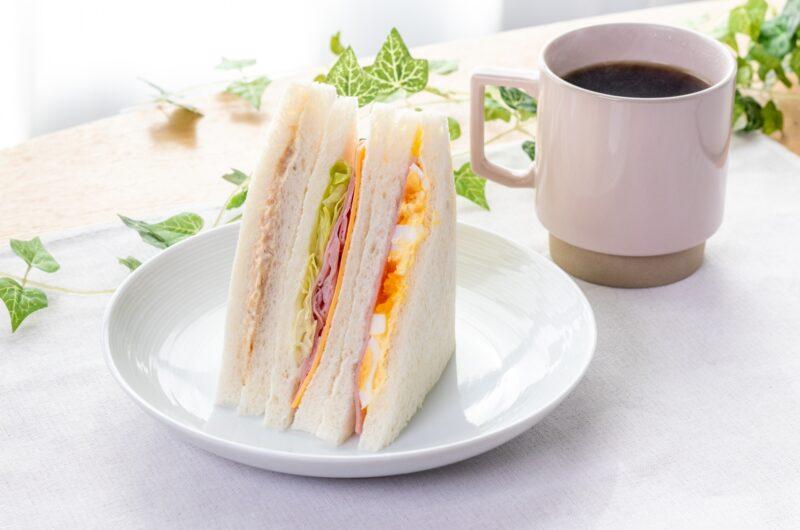 【男子ごはん】プレミアムツナサンドのレシピ【8月8日】