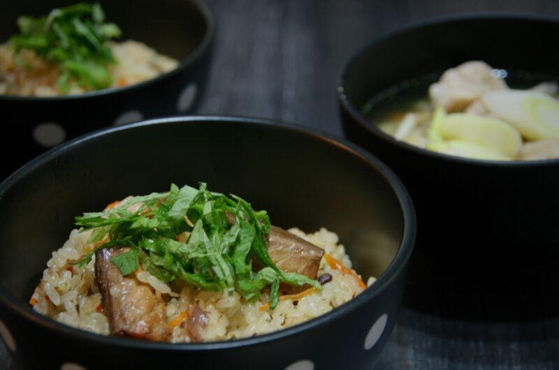 【男子ごはん】サバ缶とねぎのうま煮ぶっかけのレシピ【8月15日】