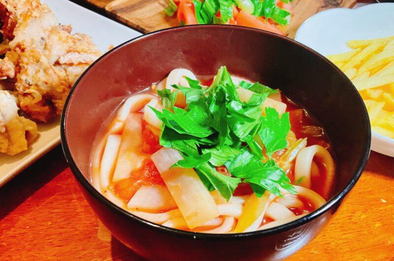 【きょうの料理】トマト肉うどん ラグマンのレシピ|荻野恭子【8月11日】