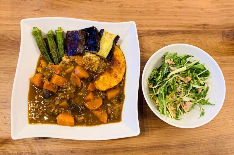 【ヒルナンデス】かぼちゃカレーのレシピ|レンチンスパイスカレー|印度カリー子【8月19日】