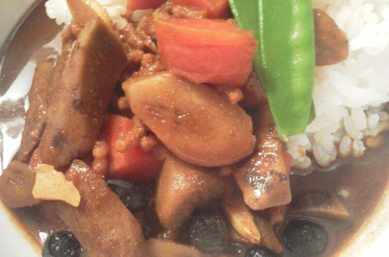 【ヒルナンデス】鶏ごぼうカレーのレシピ レンチンスパイスカレー 印度カリー子【8月19日】
