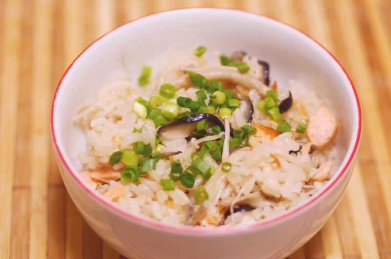 【あさイチ】秋鮭の炊き込みご飯のレシピ【9月28日】