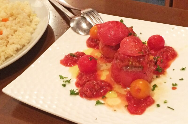【ヒルナンデス】トマトと鮭のファルシーのレシピ|家政婦マコさん|ライバル食材徹底討論【9月8日】