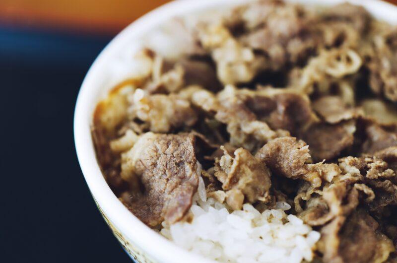 【あさイチ】しぐれ煮牛丼のレシピ【9月15日】