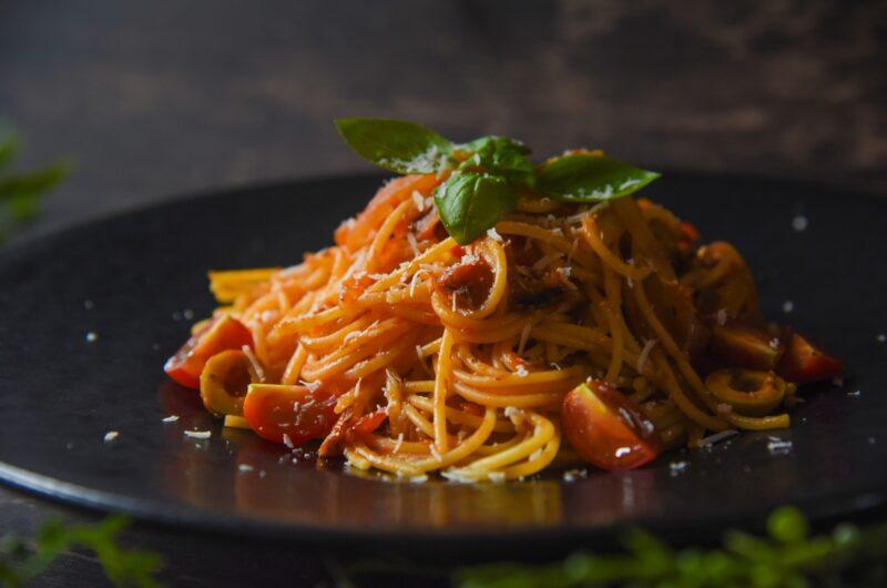 【ウワサのお客さま】ツナトマトパスタのレシピ|長田知恵 時短クイーン|ゆーママ【9月3日】