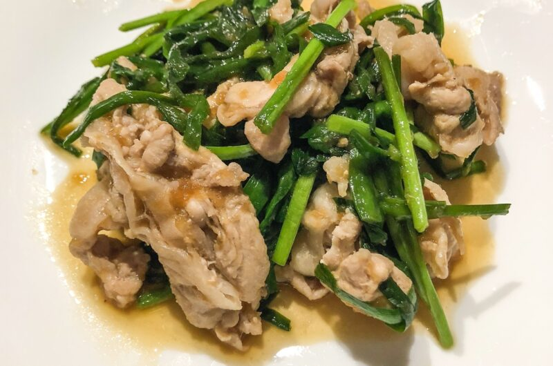 【モモコのOH!ソレ!み〜よ!】豚肉とニラの生姜炒めのレシピ|奥薗壽子【9月11日】