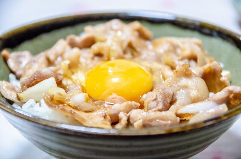 【家事ヤロウ】秒すた丼のレシピ|和田明日香【9月7日】