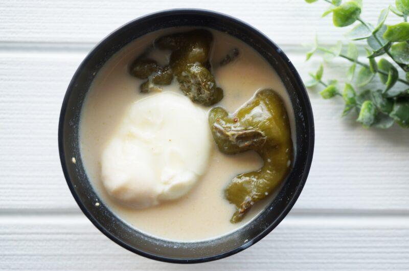 【林修の今でしょ講座】豆乳味噌汁のレシピ【9月14日】