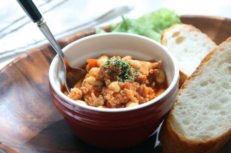 【きょうの料理】豚ひき肉と豆のトマト煮のレシピ 関岡弘美【9月8日】