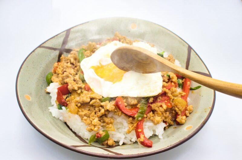 【ヒルナンデス】ガパオライスのレシピ|無印良品|梅沢富美男【9月27日】