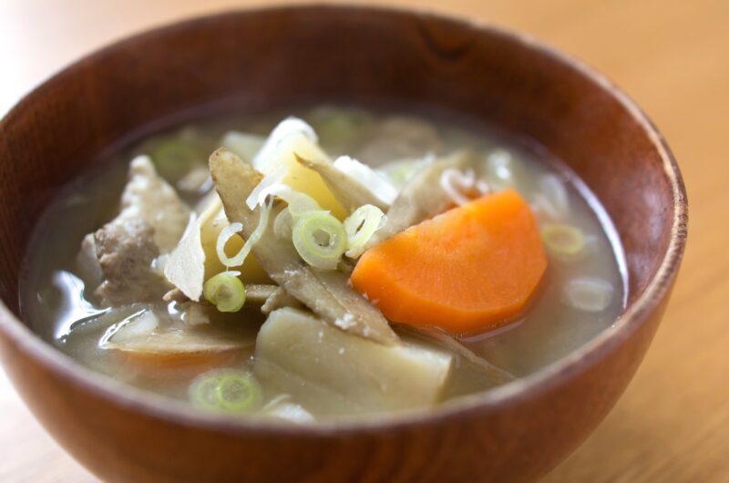 【ノンストップ】焼きまいたけの豚汁のレシピ|笠原将弘|エッセ【9月13日】