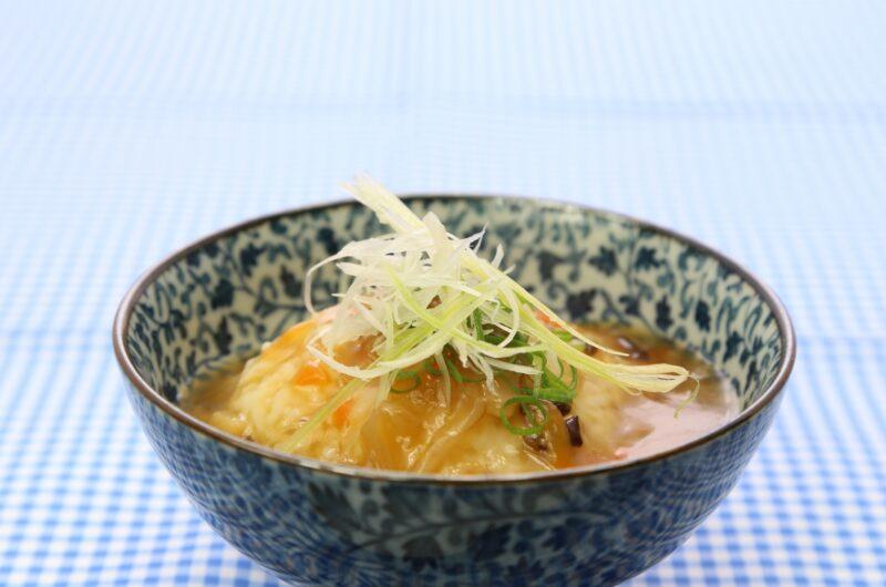 【あさイチ】あんかけ卵豆腐のレシピ【10月12日】