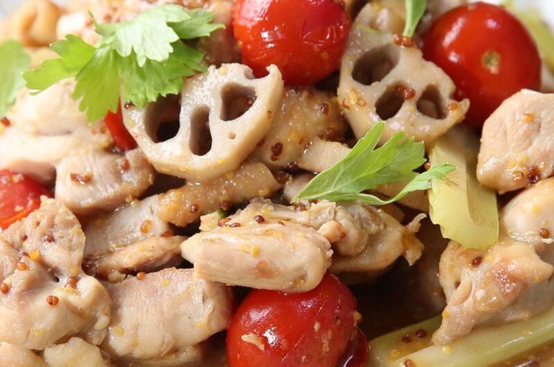 【きょうの料理】れんこんとチキンのトマト蒸し煮のレシピ|渡辺麻紀【10月5日】